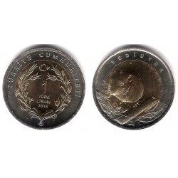 Turquía. 2016. 1 Lira (SC)