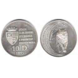 (113) Andorra. 1995. 10 Diners (SC) (Plata)