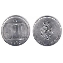 (104) Argentina. 1990. 500 Australes (SC)