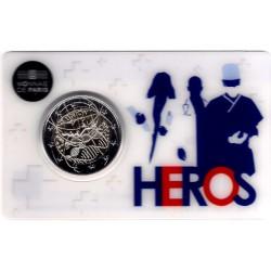 Francia. 2020. 2 Euro (SC) HEROS