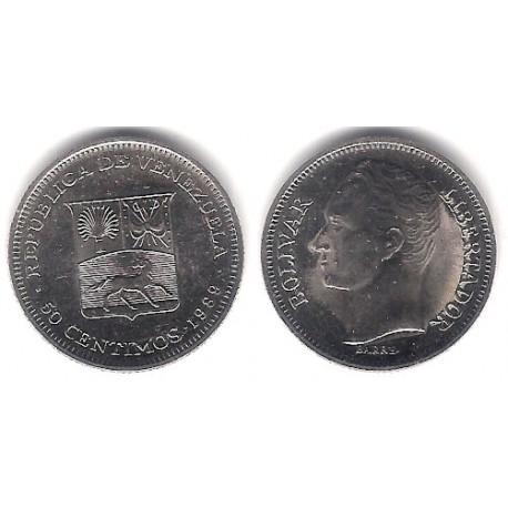(Y41a) Venezuela. 1989. 50 Céntimos (SC)