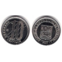 (Y89) Venezuela. 2007. 10 Céntimos (SC)