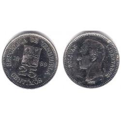 (Y50a) Venezuela. 1989. 25 Céntimos (EBC+)