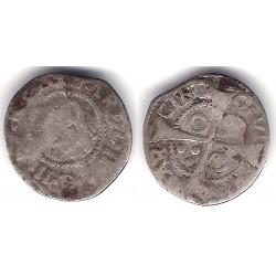 Carlos II. 1694. 1 Real (BC-) (Plata) Ceca de Barcelona