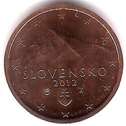 Eslovaquia. 2012. 2 Céntimos (SC)
