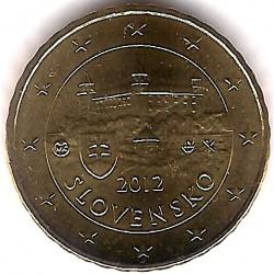 Eslovaquia. 2012. 10 Céntimos (SC)