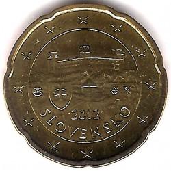 Eslovaquia. 2012. 20 Céntimos (SC)