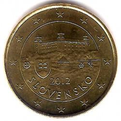 Eslovaquia. 2012. 50 Céntimos (SC)