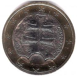 Eslovaquia. 2012. 1 Euro (SC)
