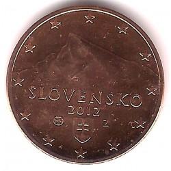 Eslovaquia. 2012. 5 Céntimos (SC)