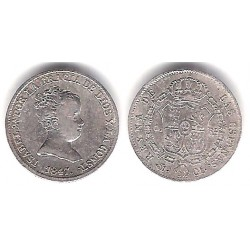 Isabel II. 1847. 1 Real (MBC) (Plata) Ceca de MadridCL