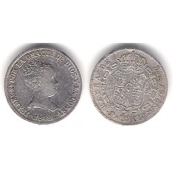 Isabel II. 1848. 1 Real (MBC) (Plata) Ceca de Madrid CL