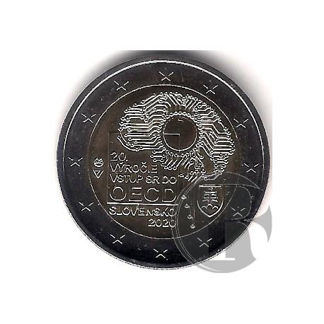 Eslovaquia. 2020. 2 Euro (SC)