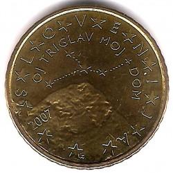 Eslovenia. 2007. 50 Céntimos (SC)
