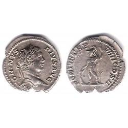 Caracalla. 211-217 d.C. Denario (EBC) (Plata)