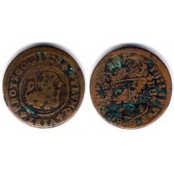 Felipe V. 1719. 4 Maravedi (BC) Ceca de Zaragoza