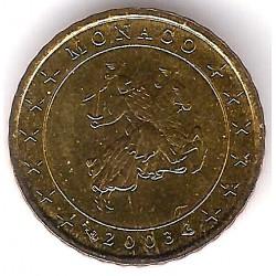 Mónaco. 2003. 10 Cents (SC)