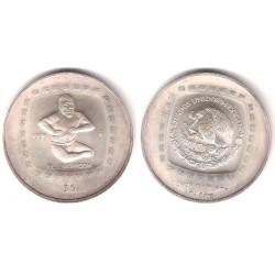 (597) Estados Unidos Mexicanos. 1996. 5 Pesos (SC) (Plata)