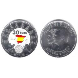 España. 2020. 30 Euro (SC) Coloreada