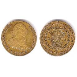 Carlos III. 1787. 2 Escudos (MBC) (Oro) Ceca de Sevilla CN