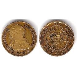 Carlos III. 1787. 1 Escudo (BC) (Oro) Ceca de Sevilla CM