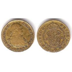 Carlos IV. 1795. 1 Escudo (MBC-) (Oro) Ceca de Madrid MF