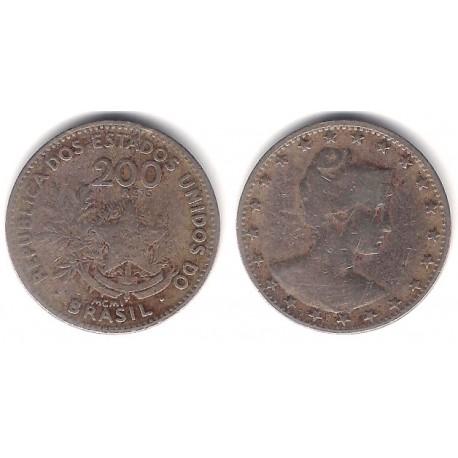 (504) Brasil. 1901. 200 Reis (BC+)