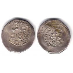 (30) Marruecos. 1188H. Dirham (BC+) (Plata)