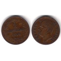 (30) Italia. 1900. 2 Centesimi (EBC)