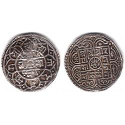(502.2) Nepal. SE1717(1795). Mohar (MBC+) (Plata)