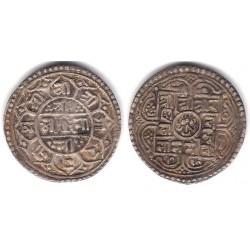 (502.2) Nepal. SE1719(1797). Mohar (MBC) (Plata)