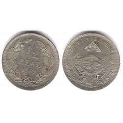 (32) Honduras. 1869. ½ Real (EBC+)