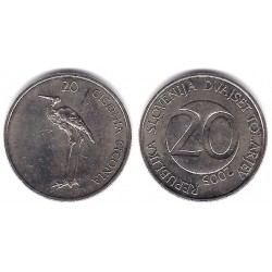(51) Eslovenia. 2005. 20 Tolarjev (EBC)