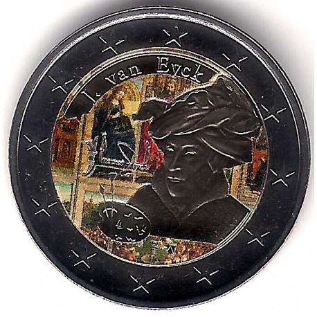 Bélgica. 2020. 2 Euro (SC) Coloreada
