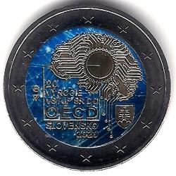 Eslovaquia. 2020. 2 Euro (SC) Coloreada