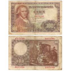 Estado Español. 1948. 100 Pesetas (BC) Serie A