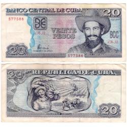 (118a) Cuba. 1998. 20 Pesos (BC+)