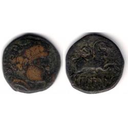 Bilbilis (Calatayud). 120-30 a.C. As (BC+)