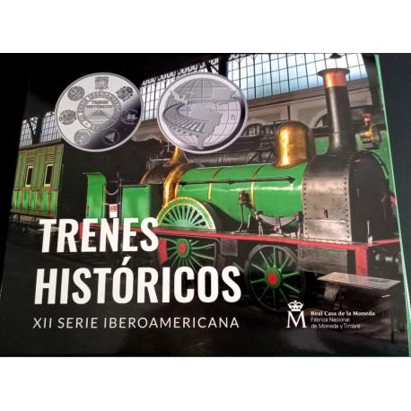 Serie Iberoamericana. 2020. Colección Compelta (Plata) (Proo)