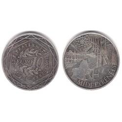 Francia. 2011. 10 Euro (BC) (Plata)
