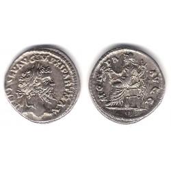 Septimo Severo. 193-211 d.C. Denario (EBC-) (Plata)