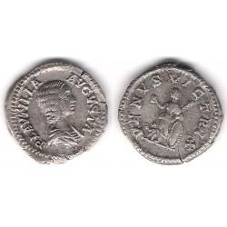 Plautilla. 202-205 d.C. Denario (MBC+) (Plata)