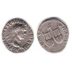 Trajano. 98-99 d.C. Drachma (BC) (Plata)
