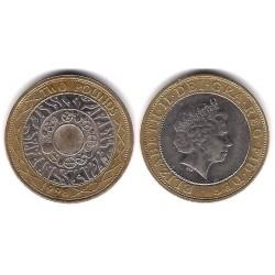 (994) Gran Bretaña. 1998. 2 Pounds (BC)