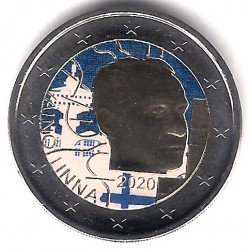 Finlandia. 2020. 2 Euro (SC) Coloreada