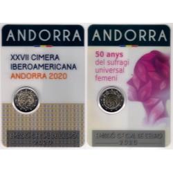 Andorra. 2020. 2 Euro + 2 Euro (SC)