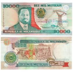(137) Mozambique. 1991. 10000 Meticais (SC)