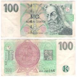 (18a) República Checa. 1997. 100 Korun (MBC-/BC+)