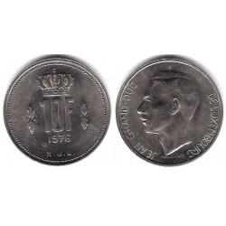 (57) Luxemburgo. 1976. 10 Francs (EBC)