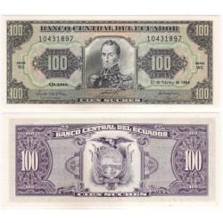 (123Ad) Ecuador. 1994. 100 Sucres (SC)
